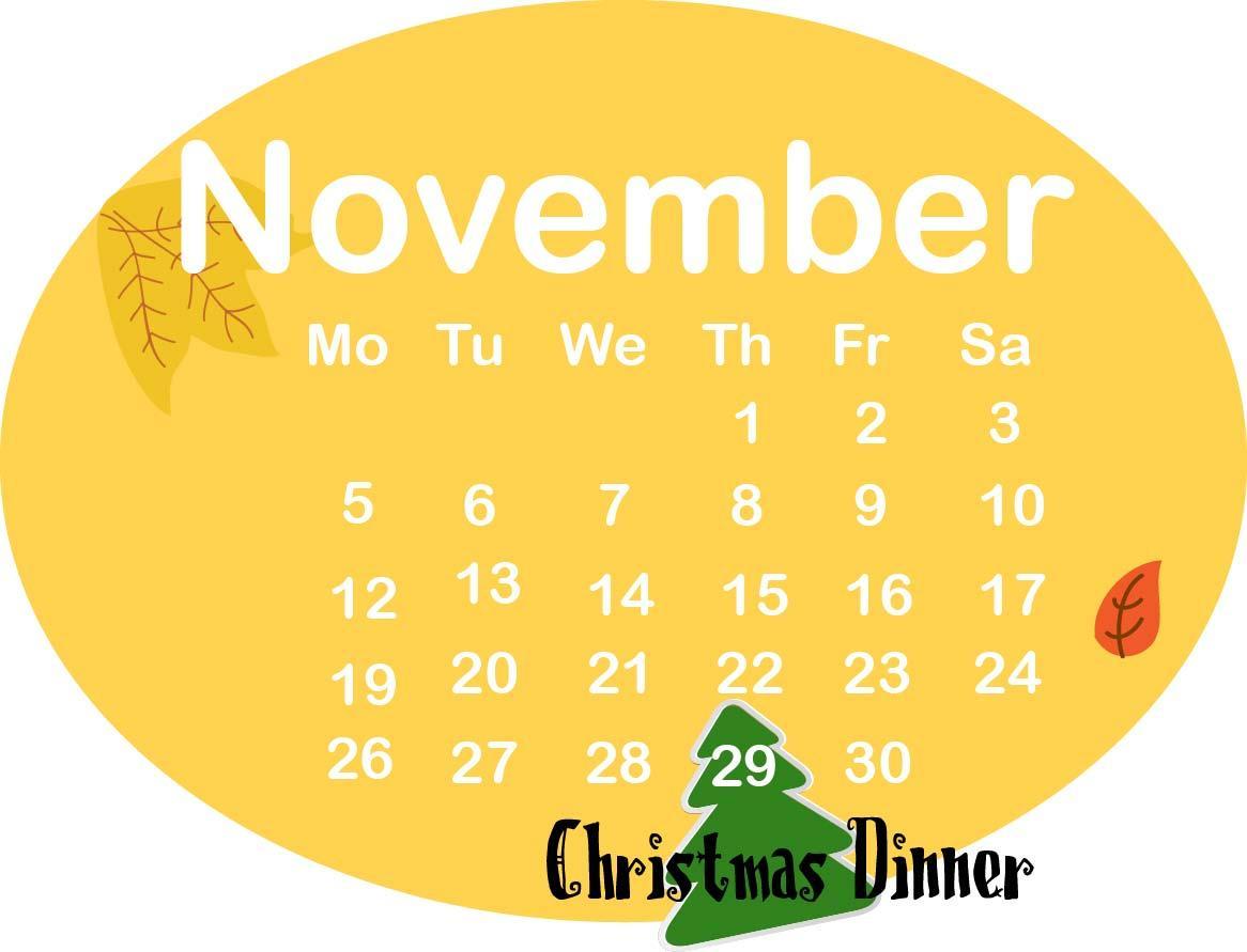 november xmas dinner -keylasosa